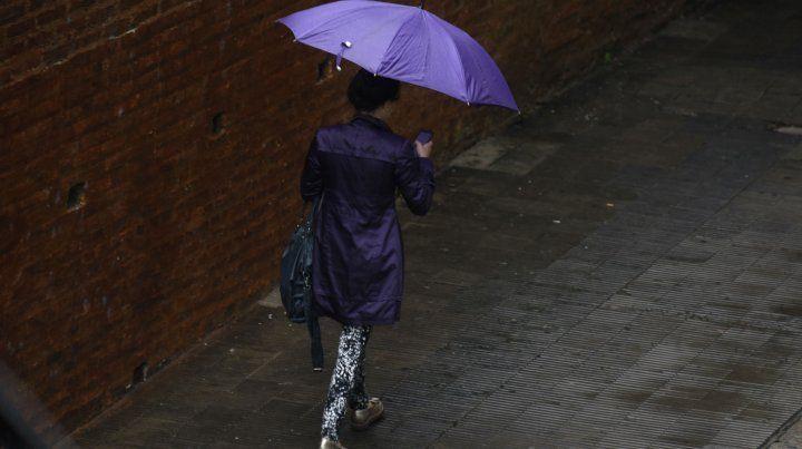 Tiempo inestable. Mejor salir con un paraguas a mano.