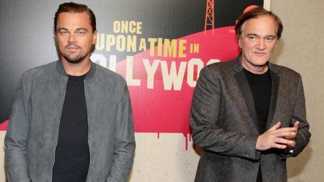 Tarantino anunció a Leo DiCaprio y Brad Pitt  juntos en su próximo film