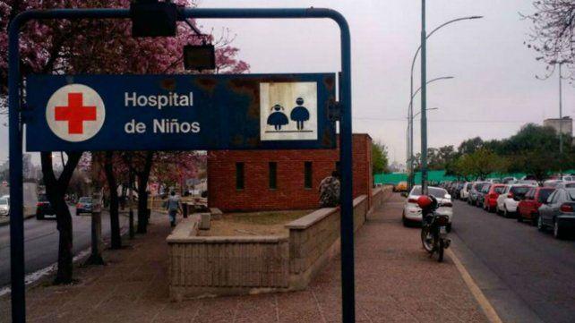 El fallecimiento se produjo en el Hospital de Niños .