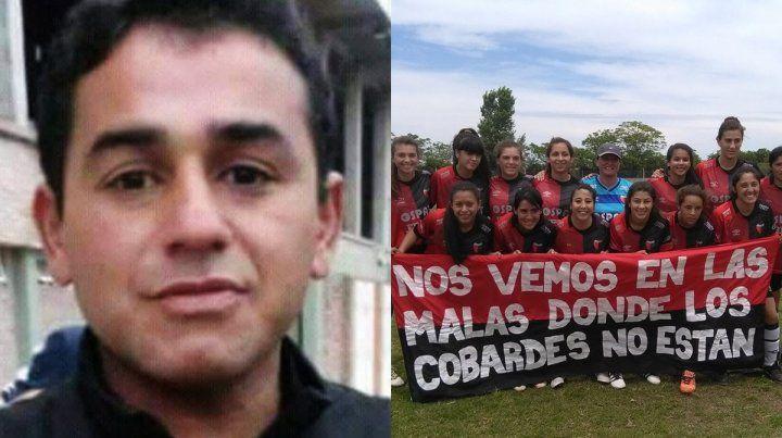 Crimen en Santa Fe. El DT del equipo femenino de Colón fue asesinado esta tarde.
