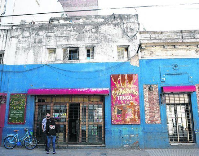 impacto. El bar que había en Corrientes al 1300