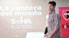Estuvo en la charla Martín Mackey.