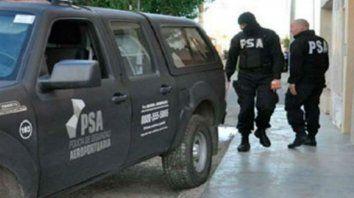 Efectivos de la PSA realizaron los allanamientos.