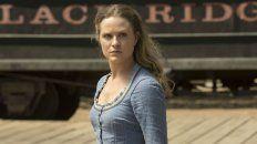 Evan Rachel Wood encarna a Dolores, el androide que se da cuenta de la verdad en Westworld.