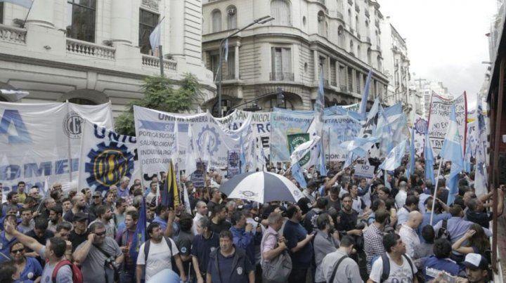 Los trabajadores de la Unión obrera Metalúrgica marcharán hacia Plaza de Mayo el próximo jueves. (Foto de archivo)