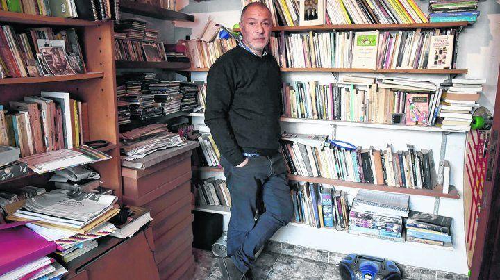 Rubén Chababo: de frente a un pasado doloroso.