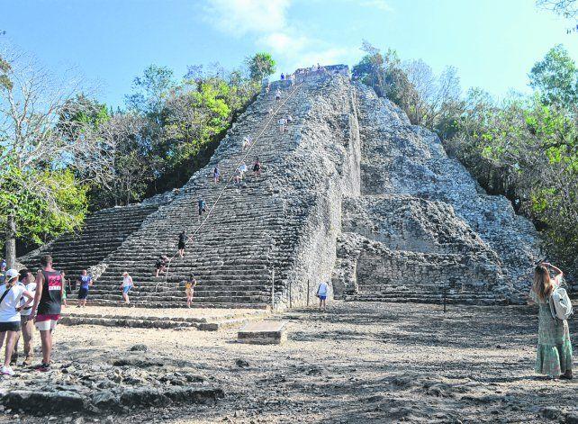 Tesoros ocultos. La pirámide del Nohoch Mul