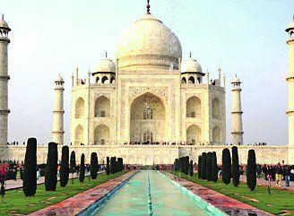 Un ícono mundial. A las orillas las orillas del río Yamuna se encuentra la ciudad de Agra