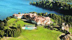 Un ícono de Bariloche. El Llao Llao es uno de los mejores hoteles del mundo, e integra la elite de The Leading Hotels of the World, que no es poco.