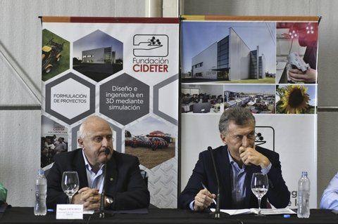 rostros adustos. Lifschitz y Macri mantienen un vínculo pendular desde diciembre de 2015.