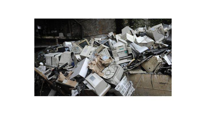 residuos informáticos. Los desechos pueden transformarse.