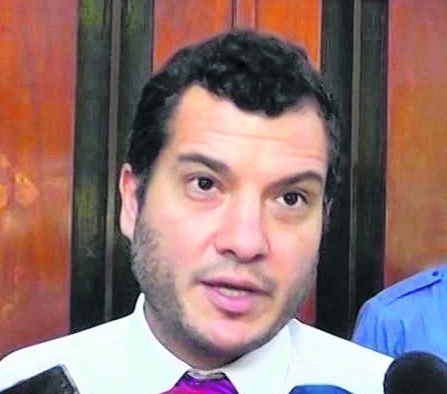 acusador. El fiscal Florentino Malaponte lleva adelante la pesquisa.