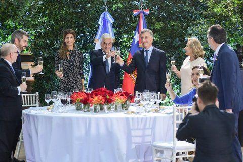 Macri y Piñera consolidan la relación bilateral