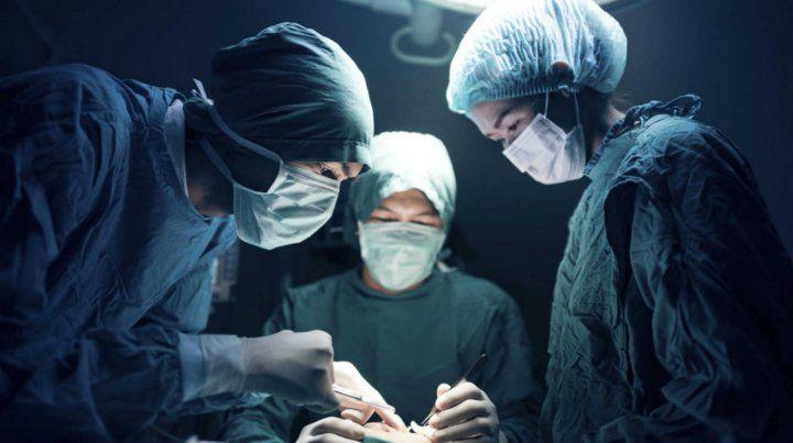 La operación duró poco más de una hora.