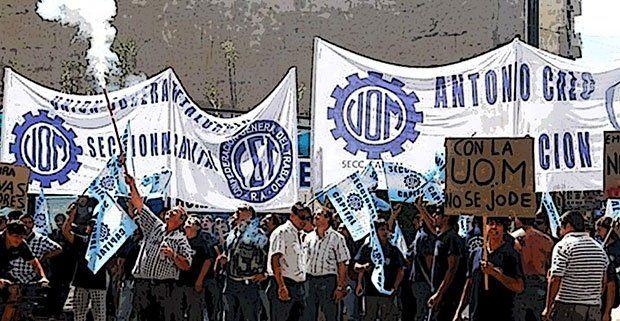 La UOM aceptó la conciliación y levantó el paro previsto para la semana próxima. (Foto de archivo)