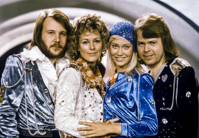 Los dorados 70. Abba saltó a la fama en 1974 con el tema Waterloo. Después crearon clásicos como Mamma Mia