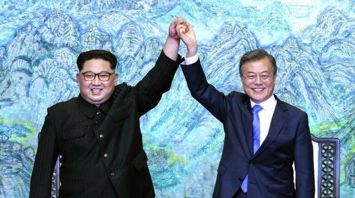 ¿Deshielo? Kim y Moon ponen fin a la histórica cumbre
