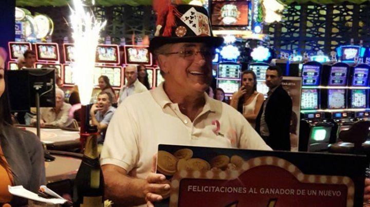 La felicidad del ganador. (Fotos: gentileza Martín Gutiérrez y Código Póker).