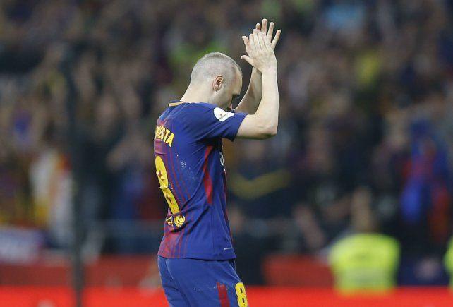 Iniesta deja Barcelona a los 34 años.