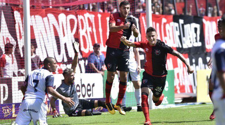El Rayo Fértoli anotó en la victoria rojinegra 2 a 1 ante Tigre en el Coloso