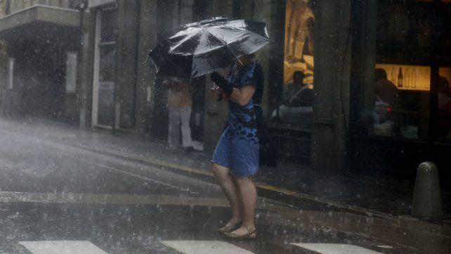 Se esperan fuertes lluvias en la tarde y noche de hoy.