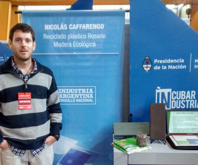 Competir. El proyecto de Nicolás Caffarengo obtuvo varios reconocimientos.