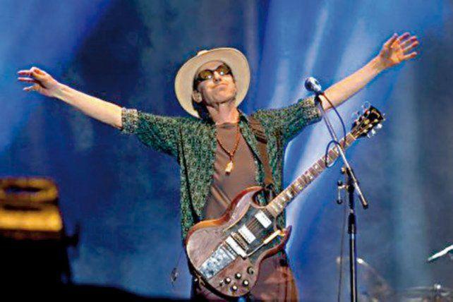 Icono del rock. Skay Beilinson.