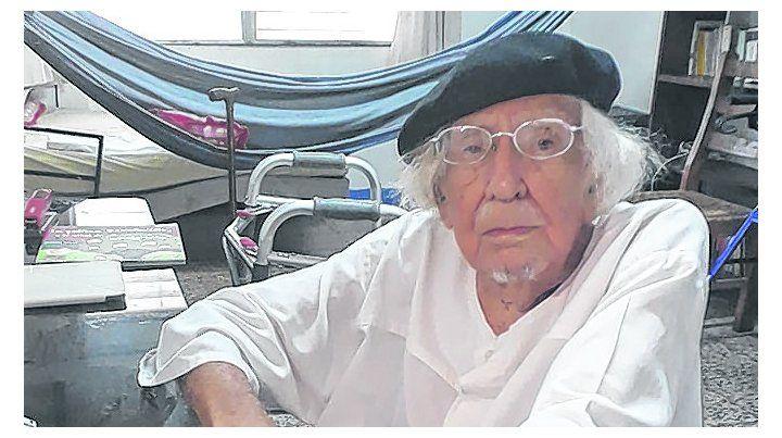 estampa. Cardenal a sus 93 años. Alabó la ola de protestas juveniles.