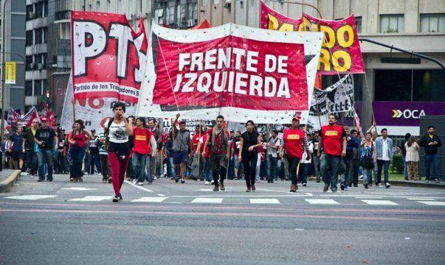 El FIT se moviliza contra los proyectos oficialistas de reforma laboral