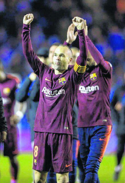 El foco del campeón también apuntó a la despedida de Iniesta