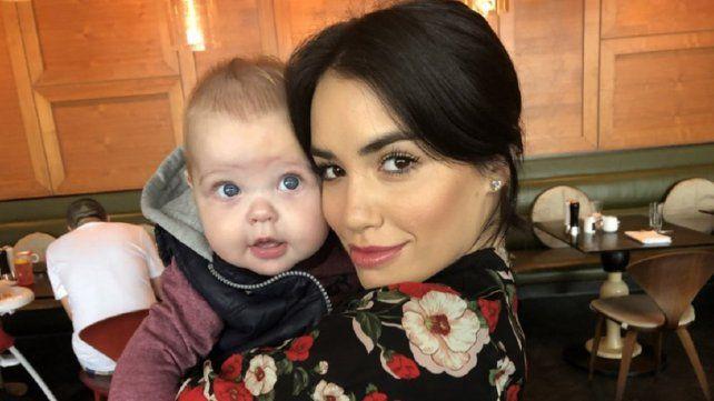 Lali practicó como mamá con Mirko y tuvo el rating más alto