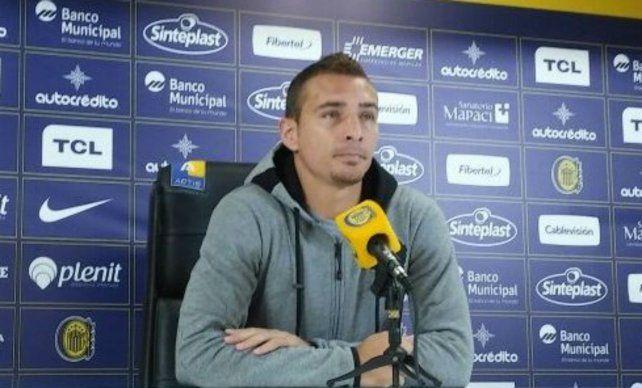 El delantero de Central, Marco Ruben, admitió que el responsable del mal momento del canalla sea solo el DT.