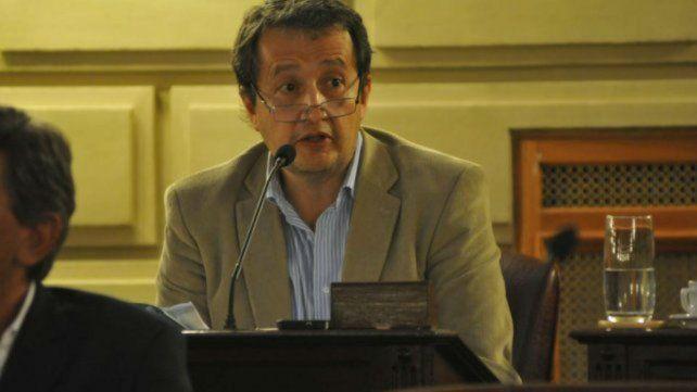 El legislador provincial del Frente Social y Popular (FSP)