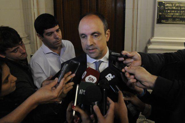 El santafesino reclamó mayores resultados en la gestión del gobernador.