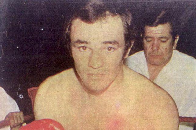 Memoria. El Zorro Campanino fue campeón argentino y sudamericano de boxeo.
