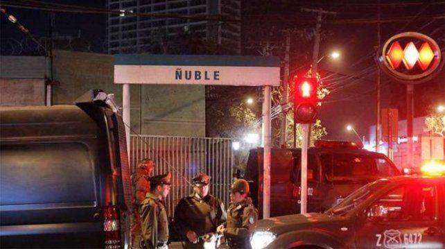 La víctima fue violada a la salida de la estación de subte Nuble.