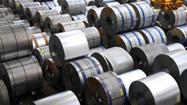 La producción de acero crudo cayó 5,6% durante junio