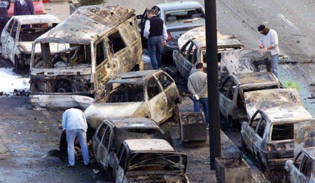 Accionar violento. El atentado explosivo etarra en Vitoria