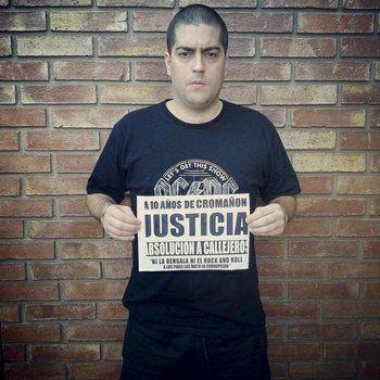fontanet. El ex líder de Callejeros había sido condenado a siete años de prisión por la tragedia de Cromañón.