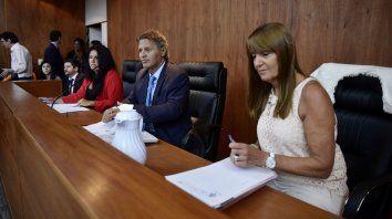 El tribunal. Marisol Usandizaga, Ismael Manfrín y María Isabel Más Varela, firmaron un fallo unánime.