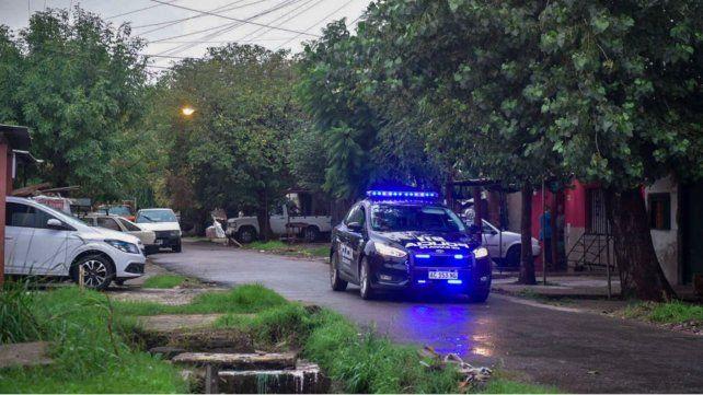 La policía en Servando Bayo e Ituzaingó