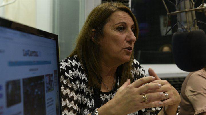 Mónica Fein anticipó que la semana próxima se reunirá con el ministro de Transporte Dietrich.