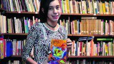 Brenda cuenta que se formó como lectora en la Escuela 1.209.
