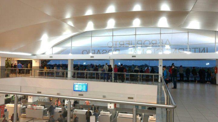 El aeropuerto de Fisherton sigue sumando vuelos.