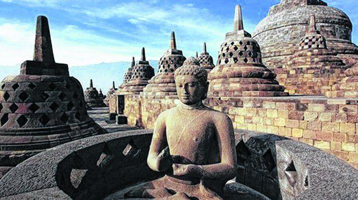 Templos y cultura de Indonesia. En la Feria se mostraron también los atractivos turísticos del mayor archipiélago del mundo.