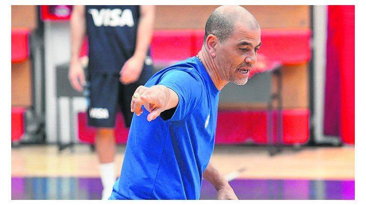 En acción. Sergio Hernández espera contar con todos los principales jugadores.