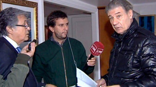 Allanaron el departamento de Víctor Hugo Morales