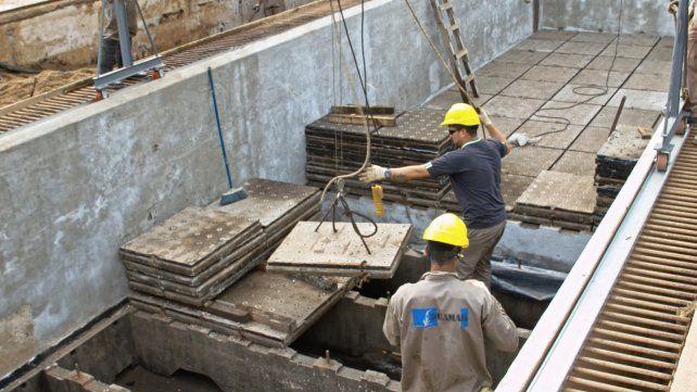 Obras. Las tareas demandan una inversión cercana a los $81 millones.