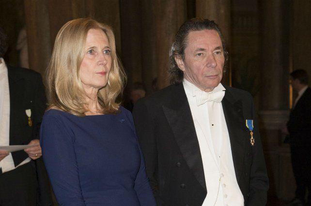 En foco. Katarina Frostenson y su marido