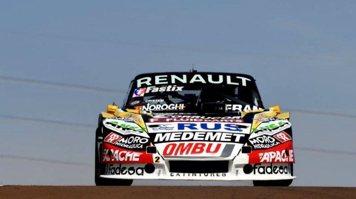 De nuevo protagonista. El Toro del piloto de la región otra vez fue competitivo. Quedó a sólo 30 milésimas de la pole de Lambiris.